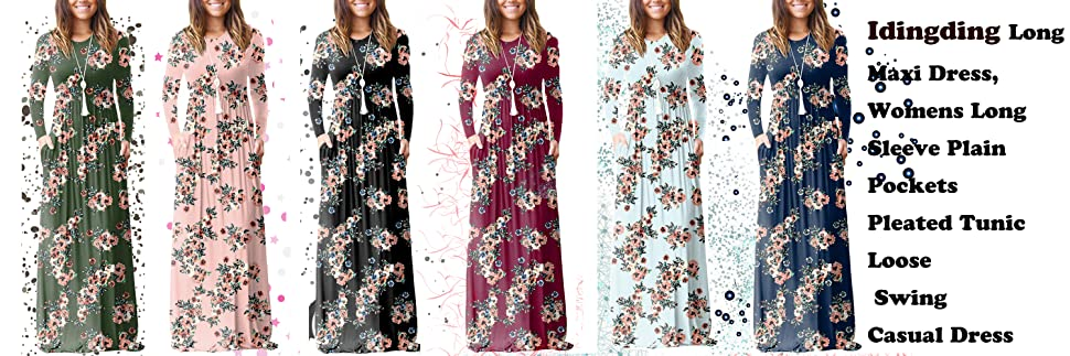 a584a42c2ce This comfy casual long dress is suitable for most of girls and women. Read  more. Size Chart: