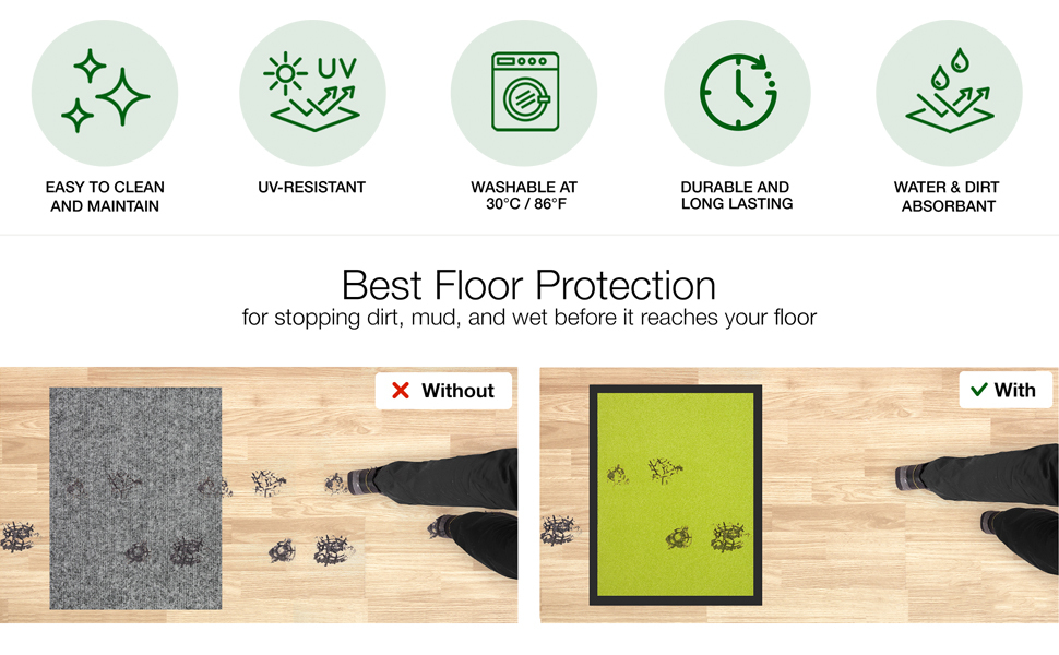 door mat welcome doormat backing holiday matts small clean step absorbent thin dog heavy duty dirt