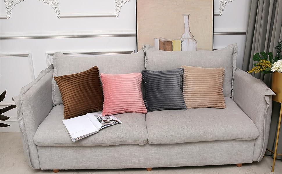 Amazon.com: Aosler - Fundas de almohada, funda de cojín de ...