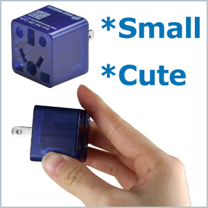 Travel gift compact small plug adapter traveling USA business america adaptor universal ROAD WARRIOR
