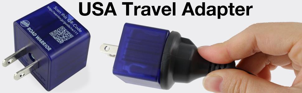 USA travel adapter plug socket outlet charger UK US Canada Japan EU Australia China power strip