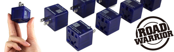 USA travel adapter plug socket outlet charger UK US Canada Japan EU light hairdryer power strip trip