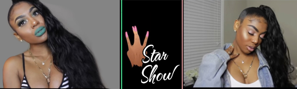 star show human hair wigs body wave