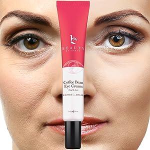 beauty by earth natural organic eye cream facial moisturizer under eye circles skin moist best women