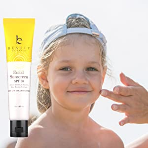 Amazon Com Facial Sunscreen Spf 20 Water Resistant