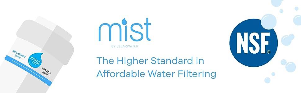 Mist GE MWF Smartwater, MWFP, GWFA, Kenmore 9991, 46-9991, 469991 Refrigerator Water Filter Graphic