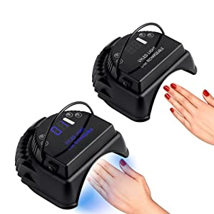 Amazon.com: Mini LOP - Lámpara de uñas LED recargable para ...