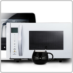 Microwave ovens and dishwashers safe