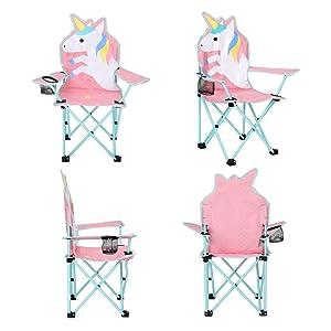 Amazon.com: KABOER Silla plegable para césped y camping con ...