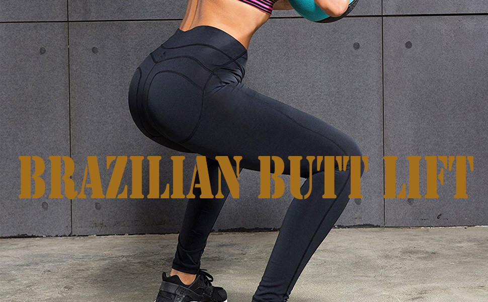 f00b004871c RUNNING GIRL Butt Lift Leggings Scrunch Butt Push Up Leggings Yoga ...
