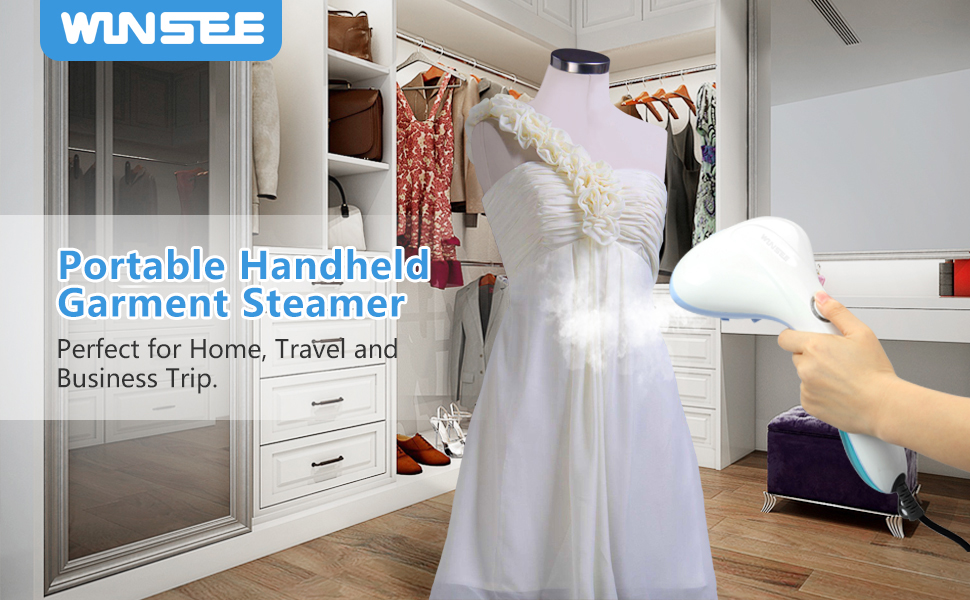 our winsee garment steamer has an automatic shutoff function when the unit gets too hot or the water level is too low - Garment Steamer