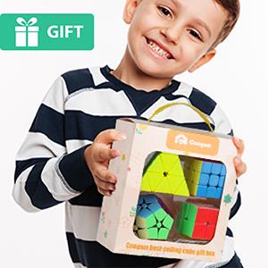 Amazoncom Coogam Stickerless Speed Cube Bundle Set Of 2x2 3x3