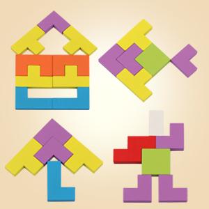 Coogam Wooden Tetris Puzzle …