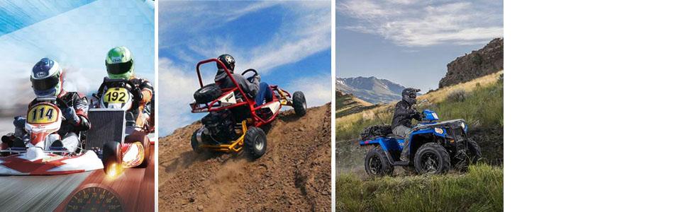 Maxon Performance Go Kart 30 Series Drive Belt Fit for Yerf-dog go karts  203591- Q430203W(Pack of 1)