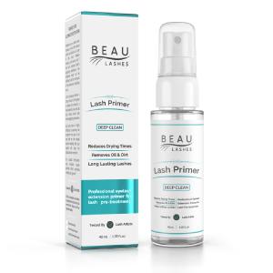 Beau Lashes Eyelash Extension Lash Primer Box And Bottle