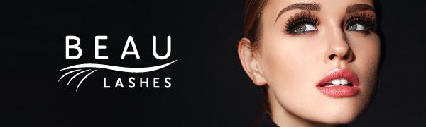 Beau Lashes Eyelash Extension Supplies Logo Header