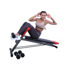 finer form multi functional bench - sit ups