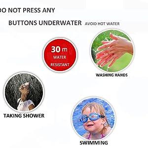 waterproof kids watch