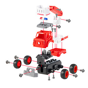 fire truck toy gift for boys