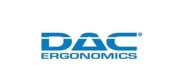 DAC Ergonomics logo human factors first base group office supplies monitor stand footrest mousepad