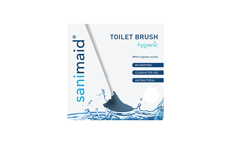 So-Mine Hygienic by Sanimaid Toilet Brush/Cleaning Tool