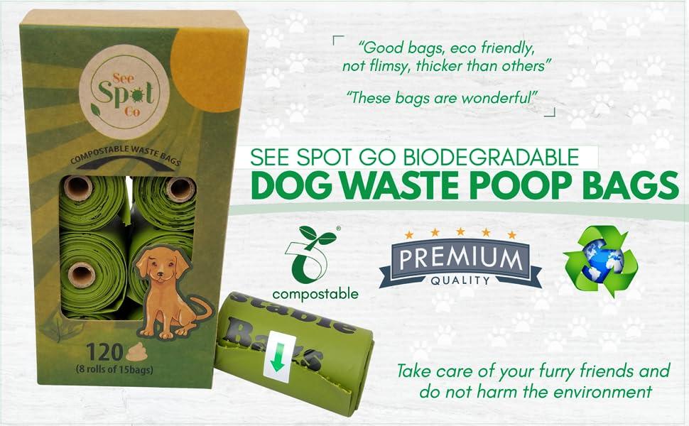Amazon.com: Ver Spot Go - Bolsas de basura biodegradables ...