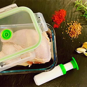 Lasting Freshness vacuum seal food containers with lids
