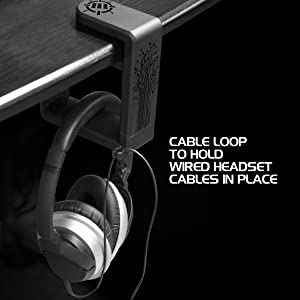 Cable going through the loop