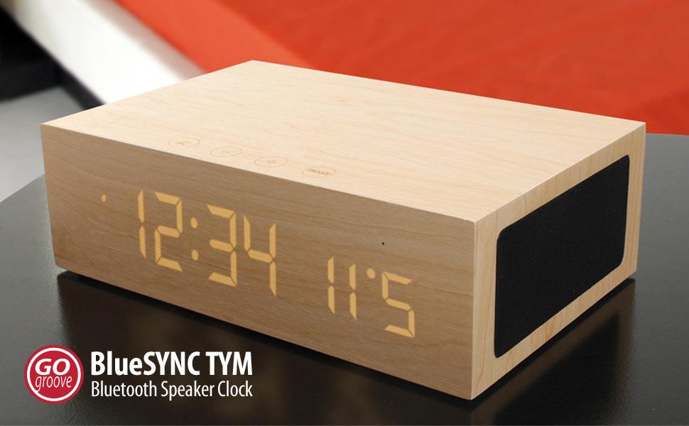 Amazon.com: Bluetooth Digital Alarm Clock Speaker by