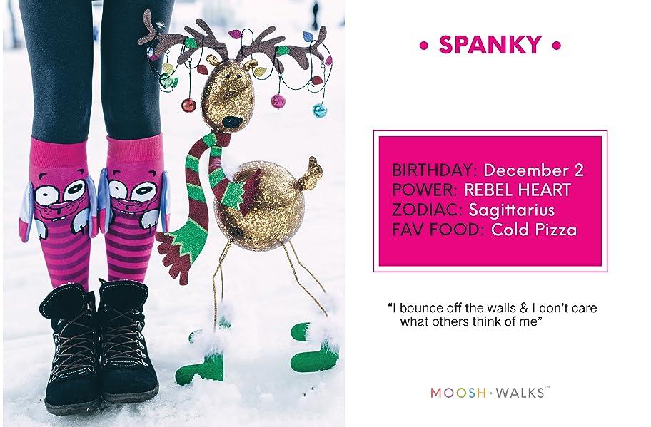 amazon com moosh walks women s novelty knee high socks with ears