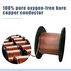100% pure oxygen-free bare copper conductor