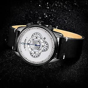 white dial