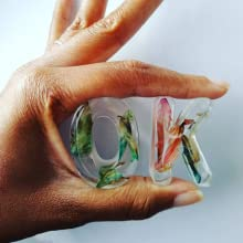 clear epoxy resin casting art
