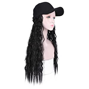 medical treatment patient special hat cap with hair attached for women summer