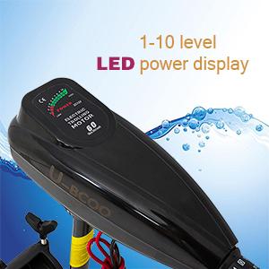 LED power display