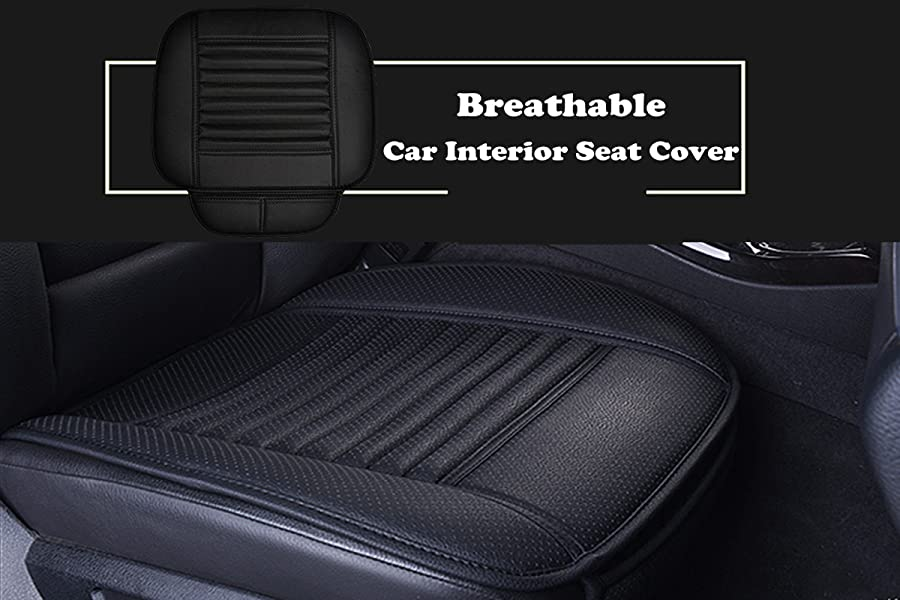 Amazon Com Big Ant Breathable 2pc Car Interior Seat Cover Cushion