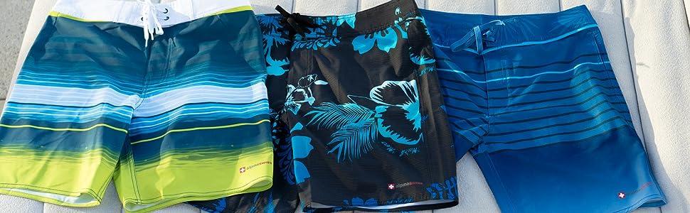 mens swim shorts swimwear board shorts summer beach pool trunks