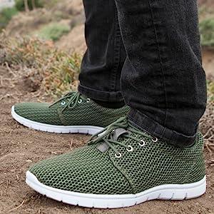 mens sneakers mesh tennis shoes