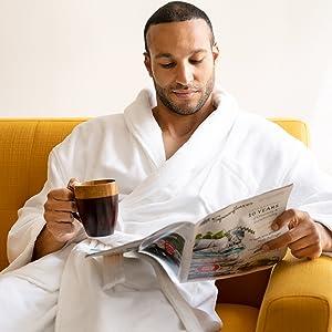 bathrobe bathroom robe lounge loungewear comfort bath robe