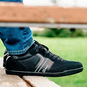 Mens liam alpine swiss sneakers tennis shoes