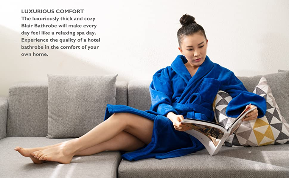 womens terry cotton bathrobe velour shawl collar towel robe lounge wear sleepwear