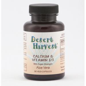 Calcium Carbonate 500 mg + Vitamin D3 200 IU (90 capsules)