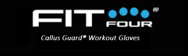 Fit Four Callus Guard Workout Gloves