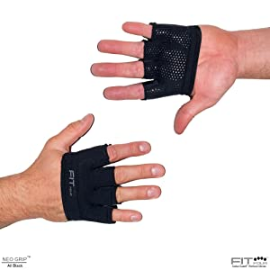 Mens male workout fitness gloves cross fit weight training lifting power best shock comfort Grippy