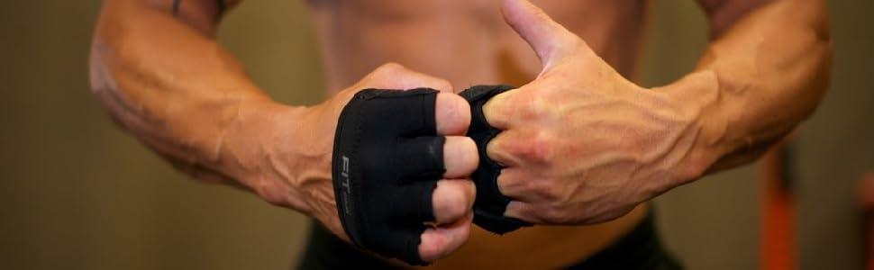 Hand Grips Pull Off Neoprene Palm