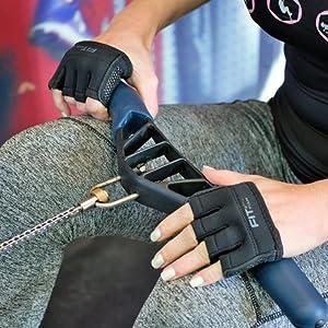 Rowing Kettlebell workout Xfit sweaty grip hand machine bar work chin ups