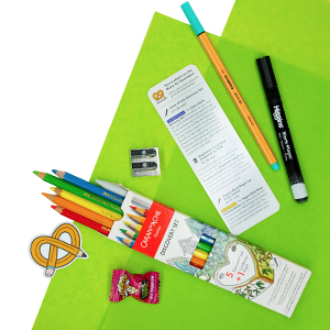 Discover new art supplies