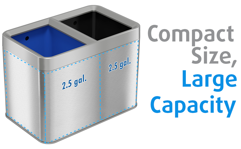 2.5 gallon 5 20 liter buckets removable container combo combination