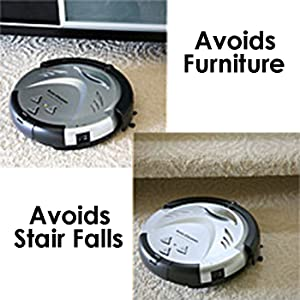 Amazon Com Itouchless Updated Robotic Vacuum Strong
