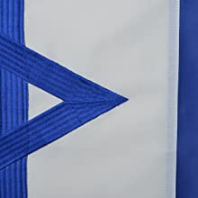 israel 3x5 Detail